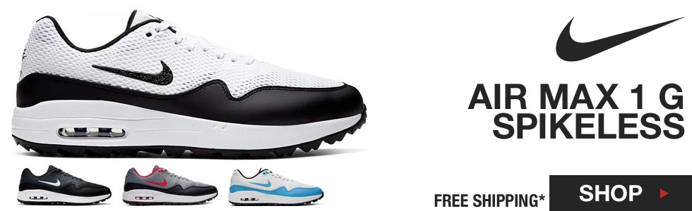 Nike NEW Air Max 1 G Spikeless Golf Shoes