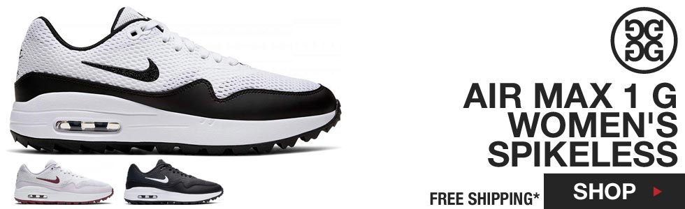 Nike NEW Air Max 1 G Women's Spikeless Golf Shoes