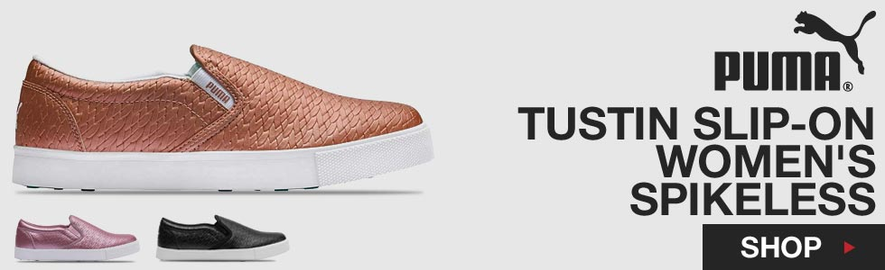 PUMA Tustin Slip-On Women's Spikeless Golf Shoes