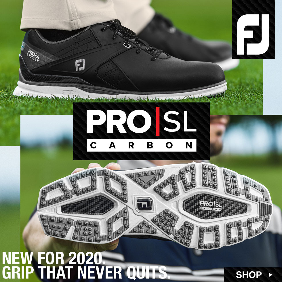 FJ Pro SL Carbon Spikeless Golf Shoes