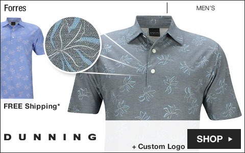 Dunning Forres Golf Shirts