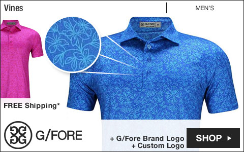 G/FORE Vines Golf Shirts