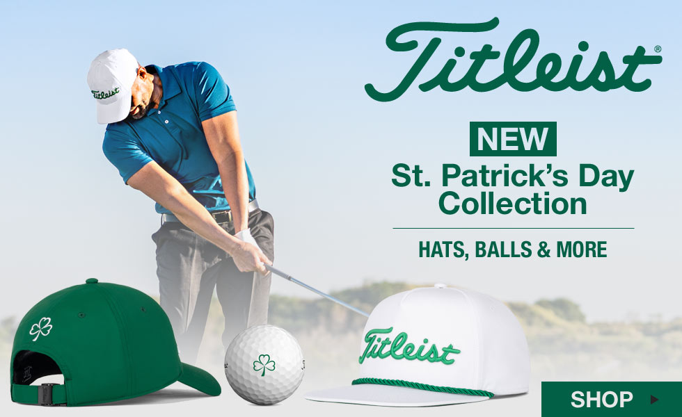Titleist St. Patrick's Day Collection at Golf Locker