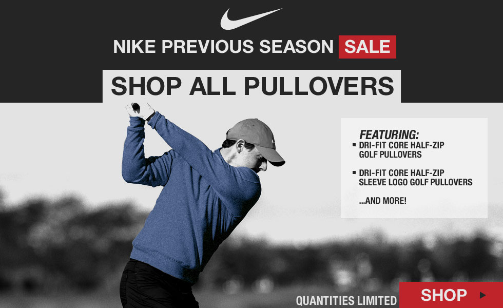 Nike Previous Season Apparel Sale | Shop All Golf Pullovers