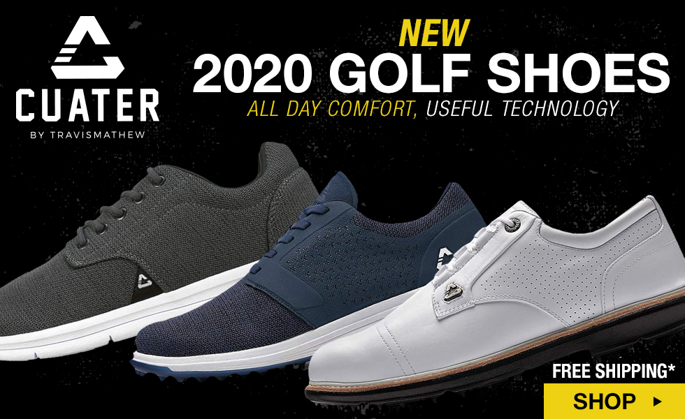 New 2020 Cuater by TravisMathew Golf Shoes at Golf Locker