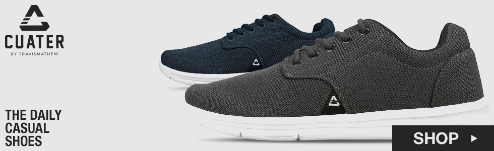 Cuater by TravisMathew 	The Daily Casual Shoes