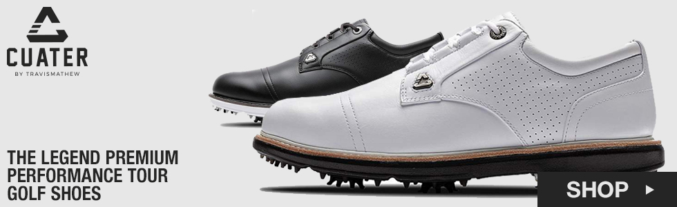 Cuater by TravisMathew The Legend Premium Performance Tour Golf Shoes
