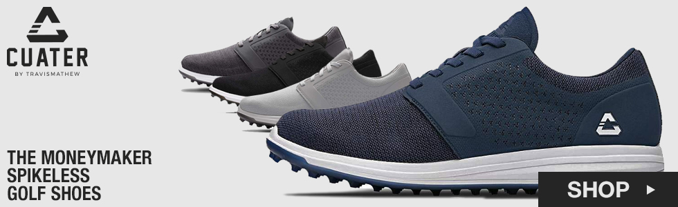 Cuater by TravisMathew The Moneymaker Spikeless Golf Shoes