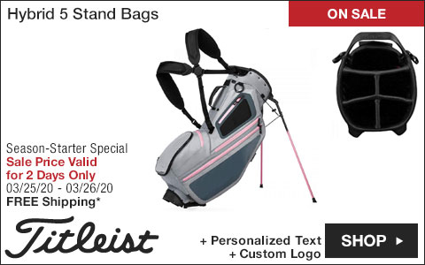 Titleist Hybrid 5 Stand Golf Bags - ON SALE