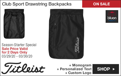 Titleist 	Club Sport Drawstring Backpacks - ON SALE