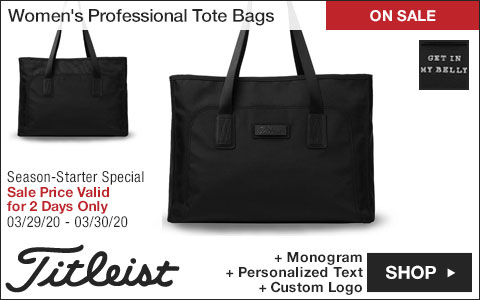 Titleist Women's Professional Tote Bags - ON SALE