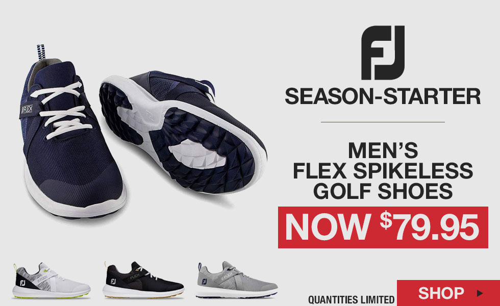 Season-Starter Special - FJ Flex Spikeless Golf Shoes