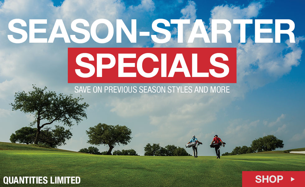 Shop Season-Starter Specials at Golf Locker