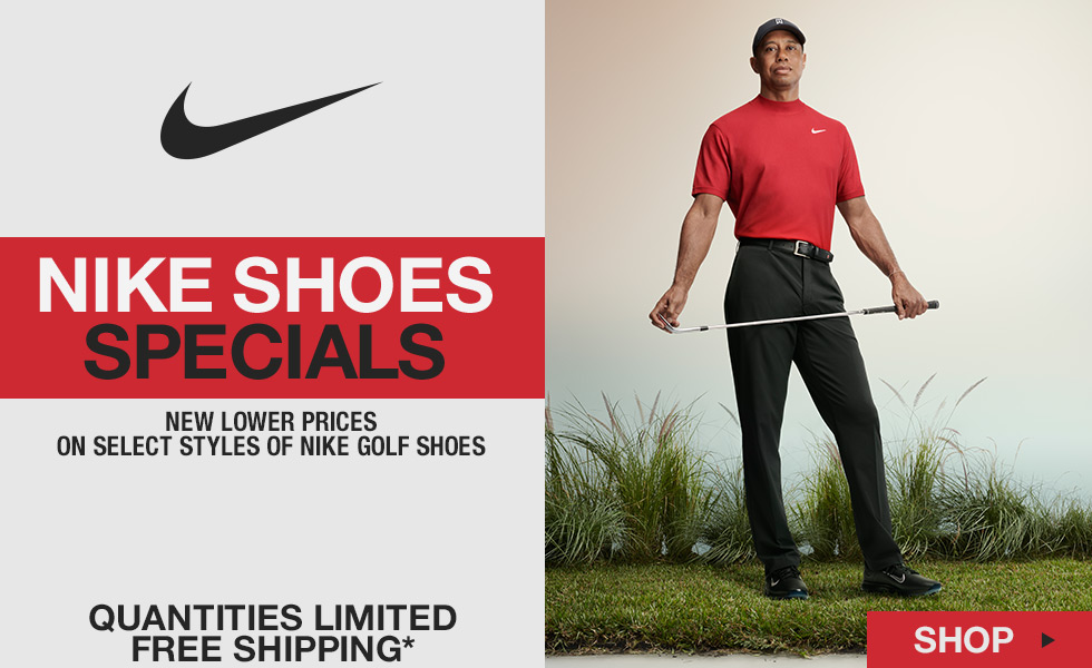 Nike Shoes Specials Start Now at Golf Locker