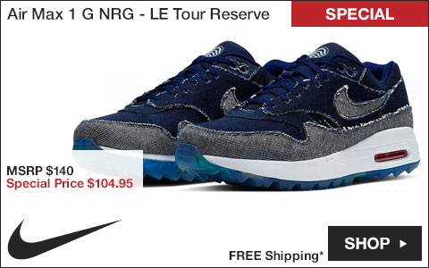 Nike Air Max 1 G NRG Spikeless Golf Shoes - Limited Edition Tour Reserve