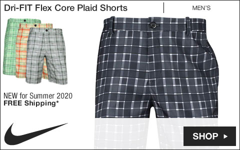 Nike Dri-FIT Flex Core Plaid Golf Shorts