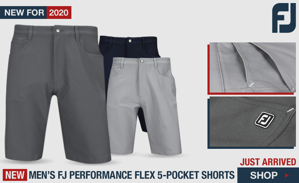 FJ Performance Flex 5-Pocket Golf Shorts - Golf Locker Exclusive