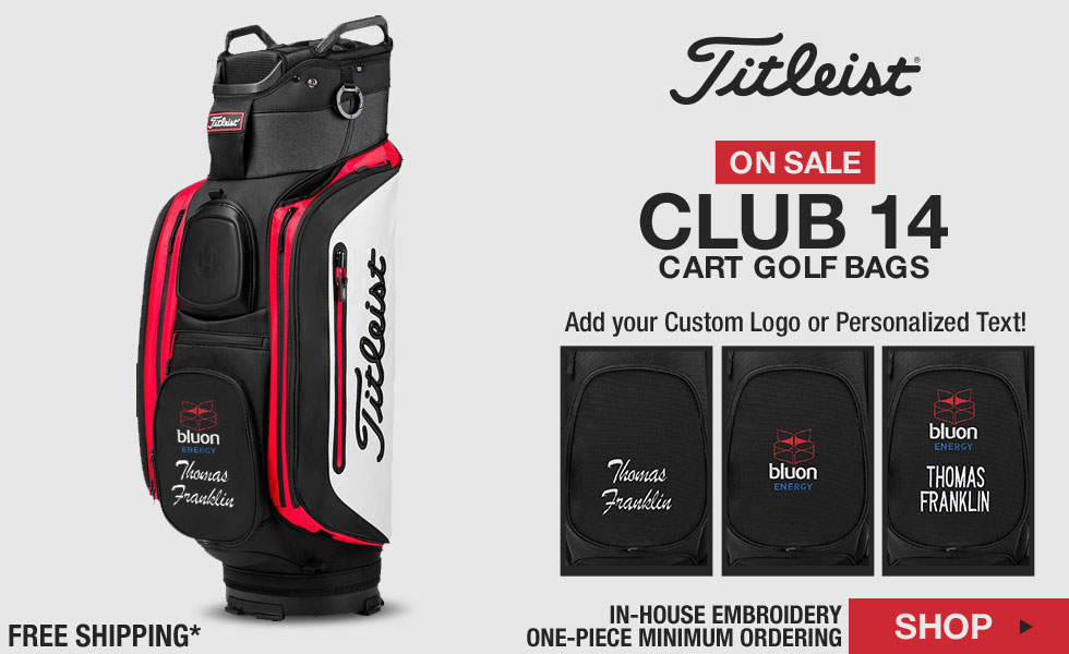 Titleist Club 14 Cart Golf Bags - ON SALE