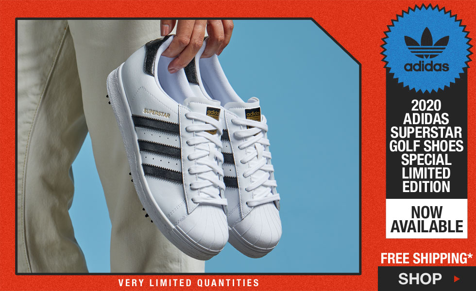 Adidas Superstar Golf Shoes - Special Limited Edition