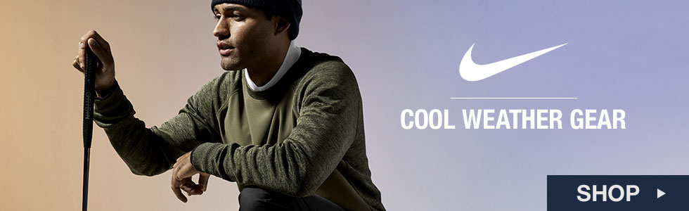 Shop Nike Cool Weather Gear at Golf Locker