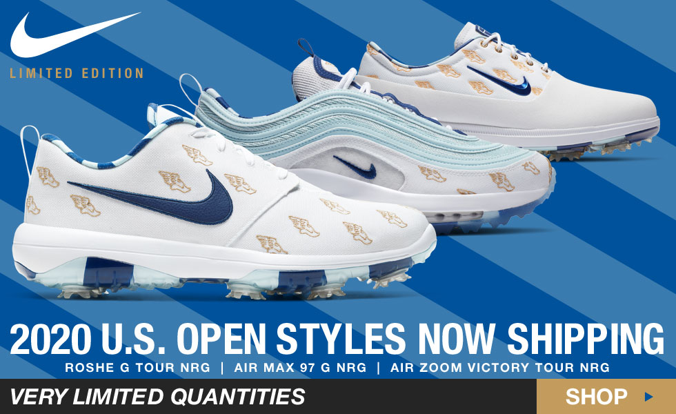 Nike Limited Edition US Open Golf Shoes