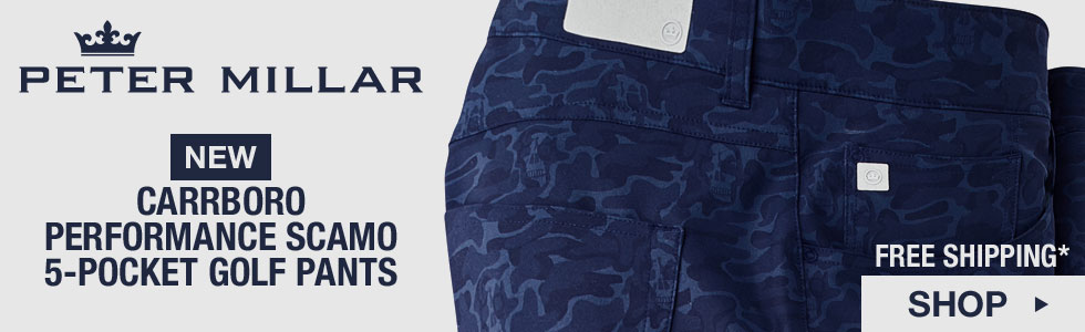 Peter Millar Carrboro Performance Scamo 5-Pocket Golf Pants