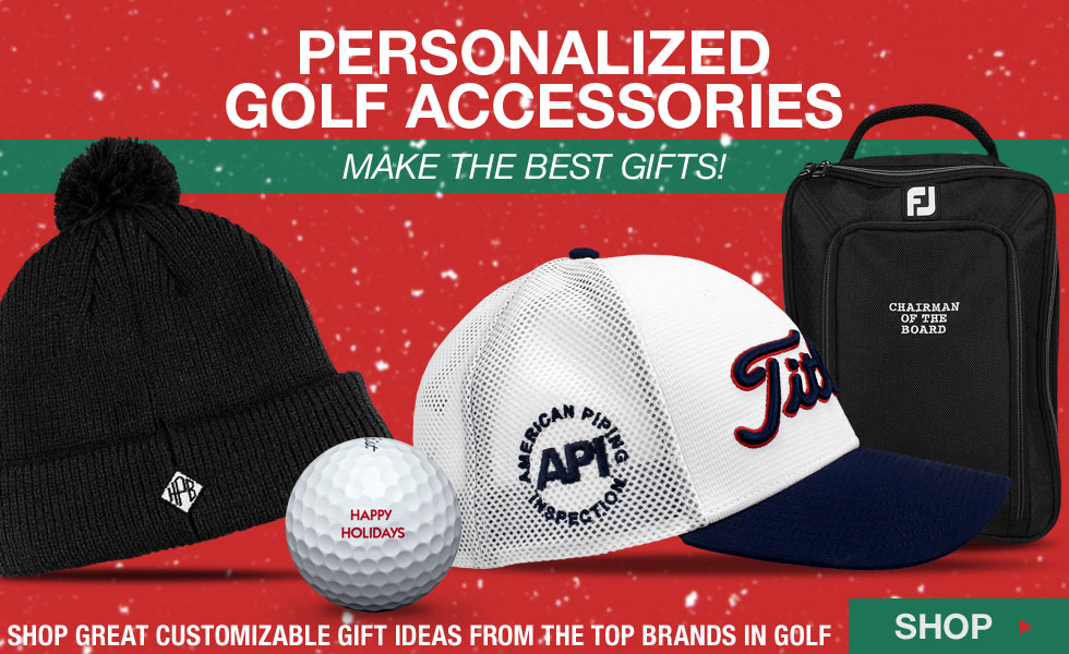 Personalized Accessories at Golf Locker