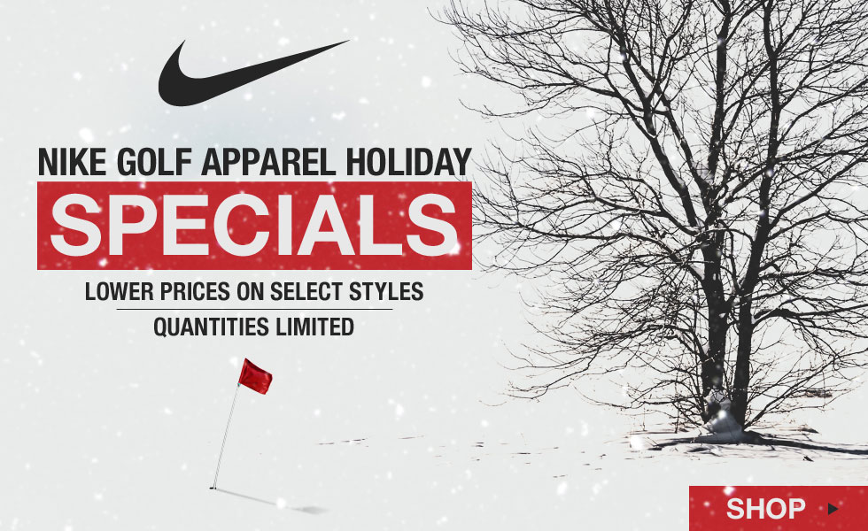 Nike Golf Apparel Holiday Specials