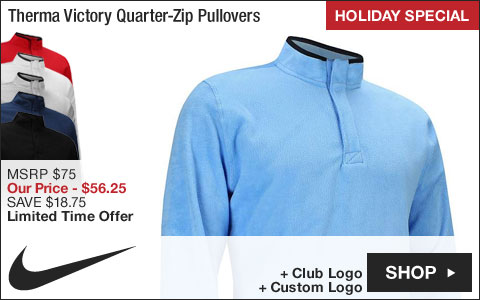 Nike Therma Victory Quarter-Zip Golf Pullovers - HOLIDAY SPECIAL