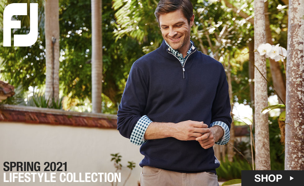 The New FJ Lifestyle Collection at Golf Locker