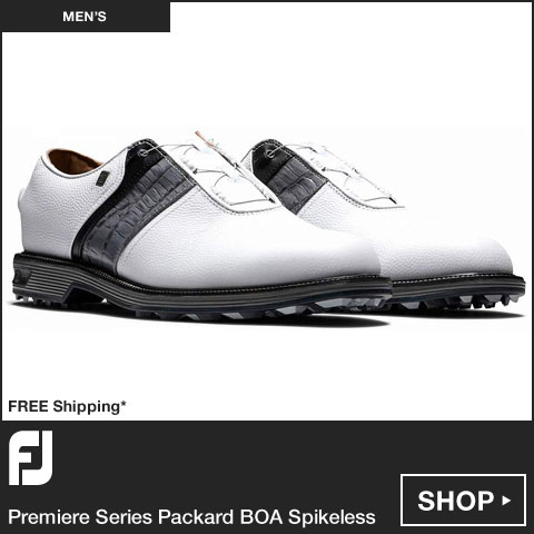 FJ 	Premiere Series Packard BOA Spikeless Golf Shoes