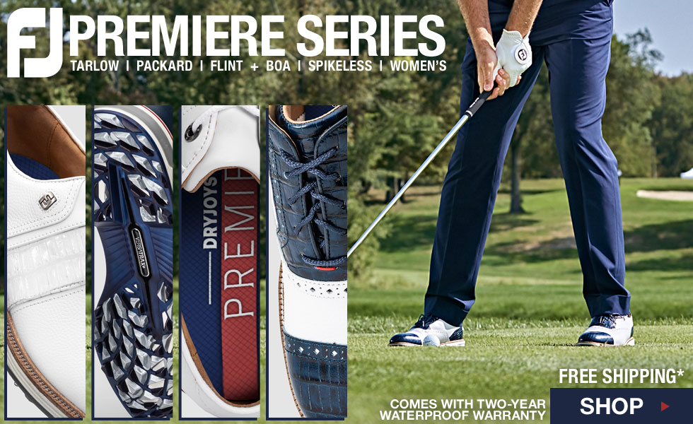 Now Shipping - The FJ Premiere Series at Golf Locker