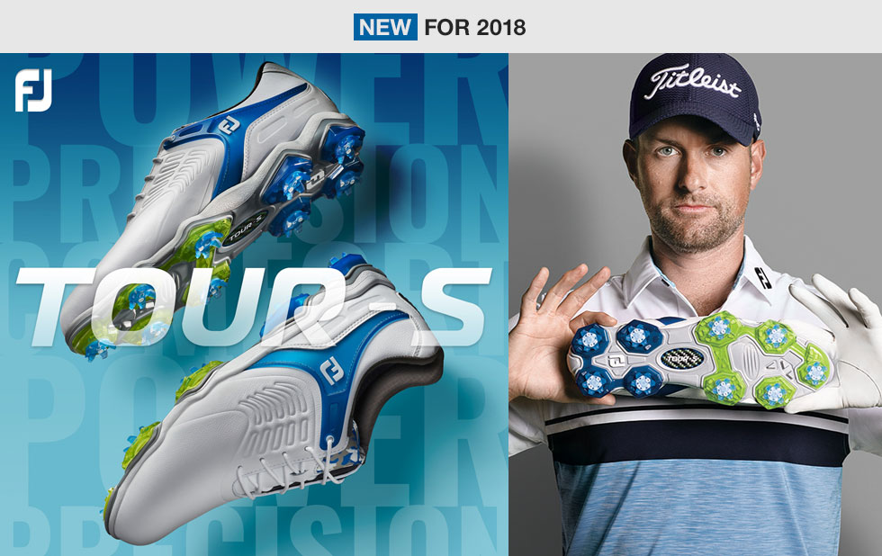Introducing the new FJ Tour S Golf Shoes at Golf Locker
