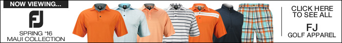 FJ Spring 2016 Golf Apparel - Maui Collection
