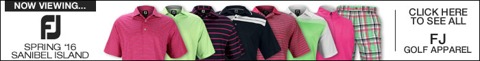 FJ Sanibel Island Golf Apparel Collection
