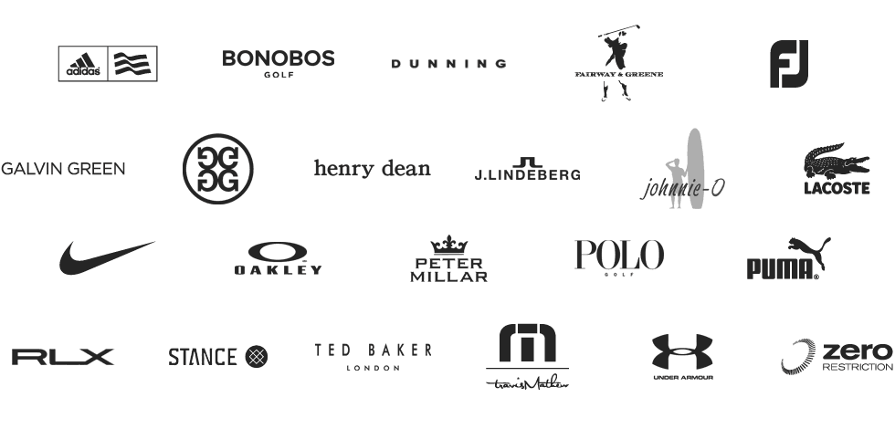 My Golf Locker - All of These Brands and More