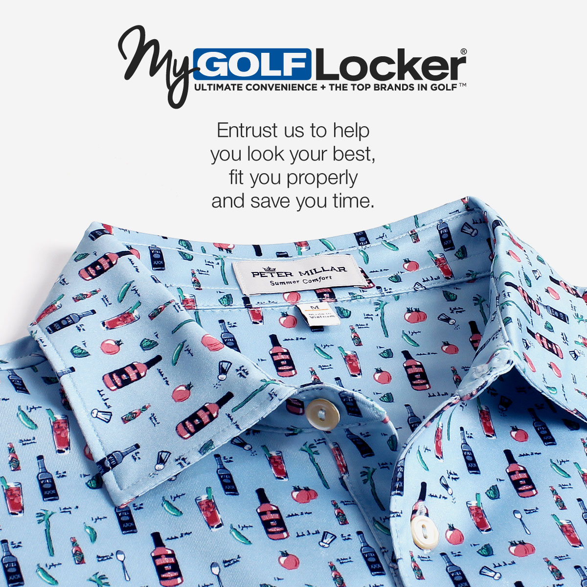 My Golf Locker - Entrust us to help you look your best, fit you properly and save you time.