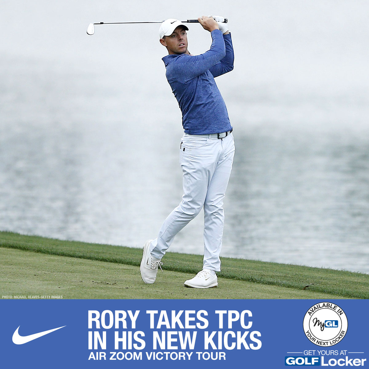 Rory takes TPC in his new Nike Air Zoom Victory Tour