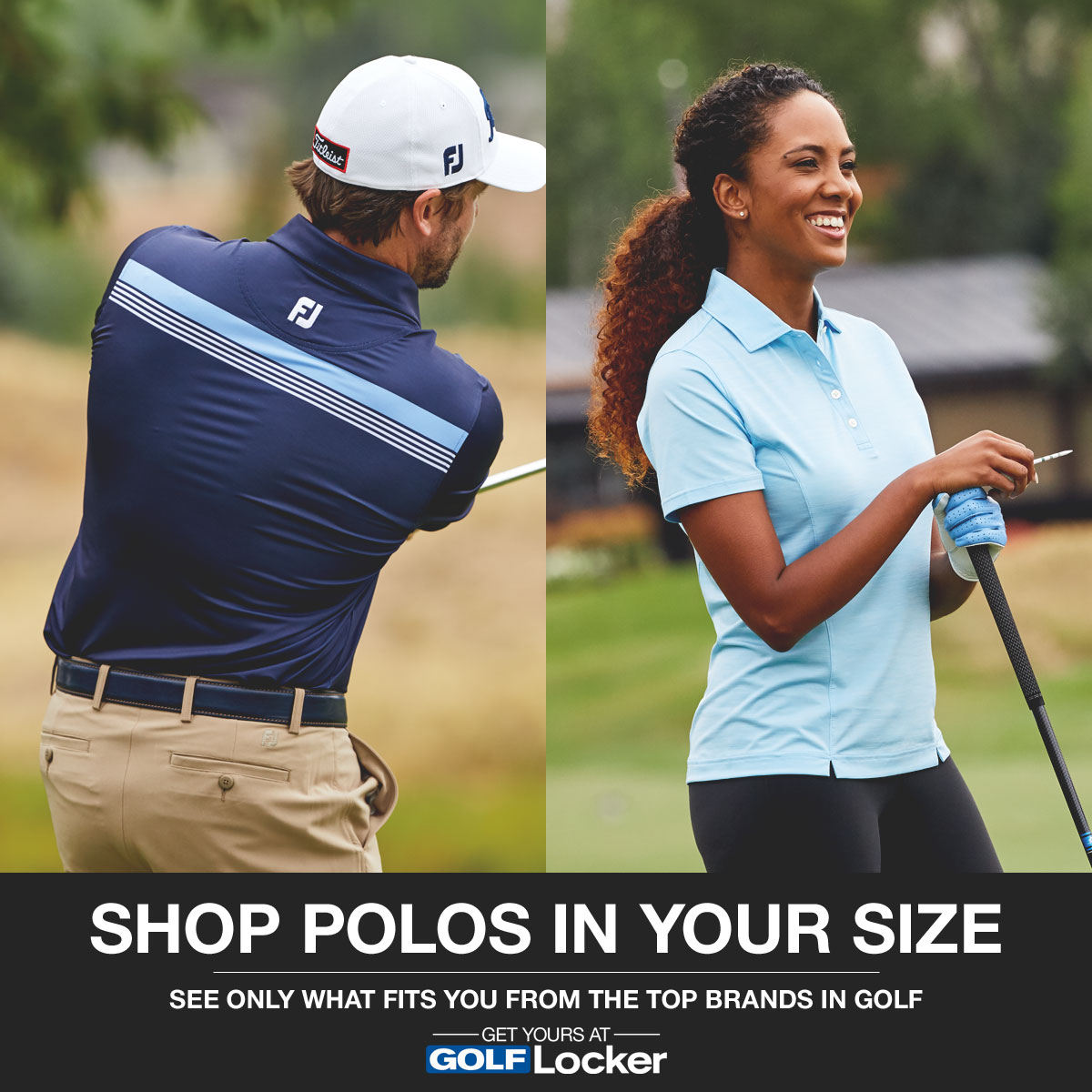 Shop Golf Polos by Size from the Top Brands in Golf