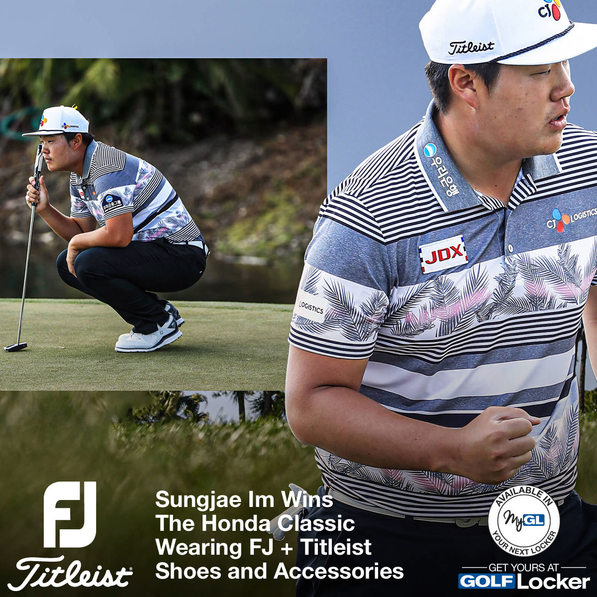 Sungjae Im Wins the Honda Classic Wearing FJ and Titleist Golf Shoes and Accessories