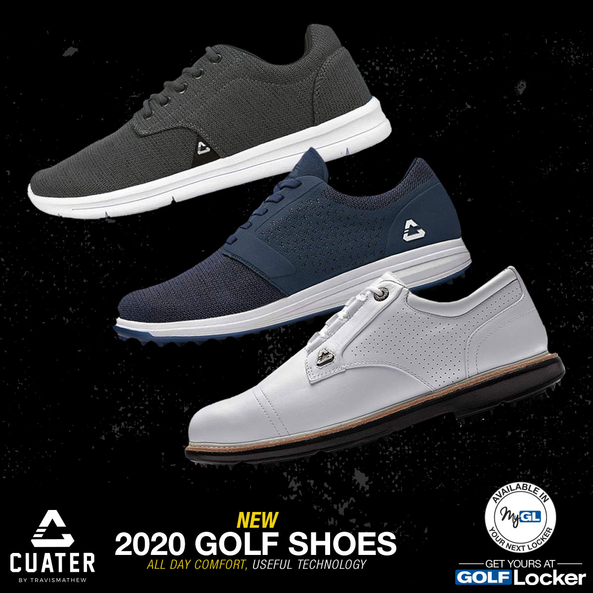 Cuater Golf Shoes at TravisMathew - New for 2020