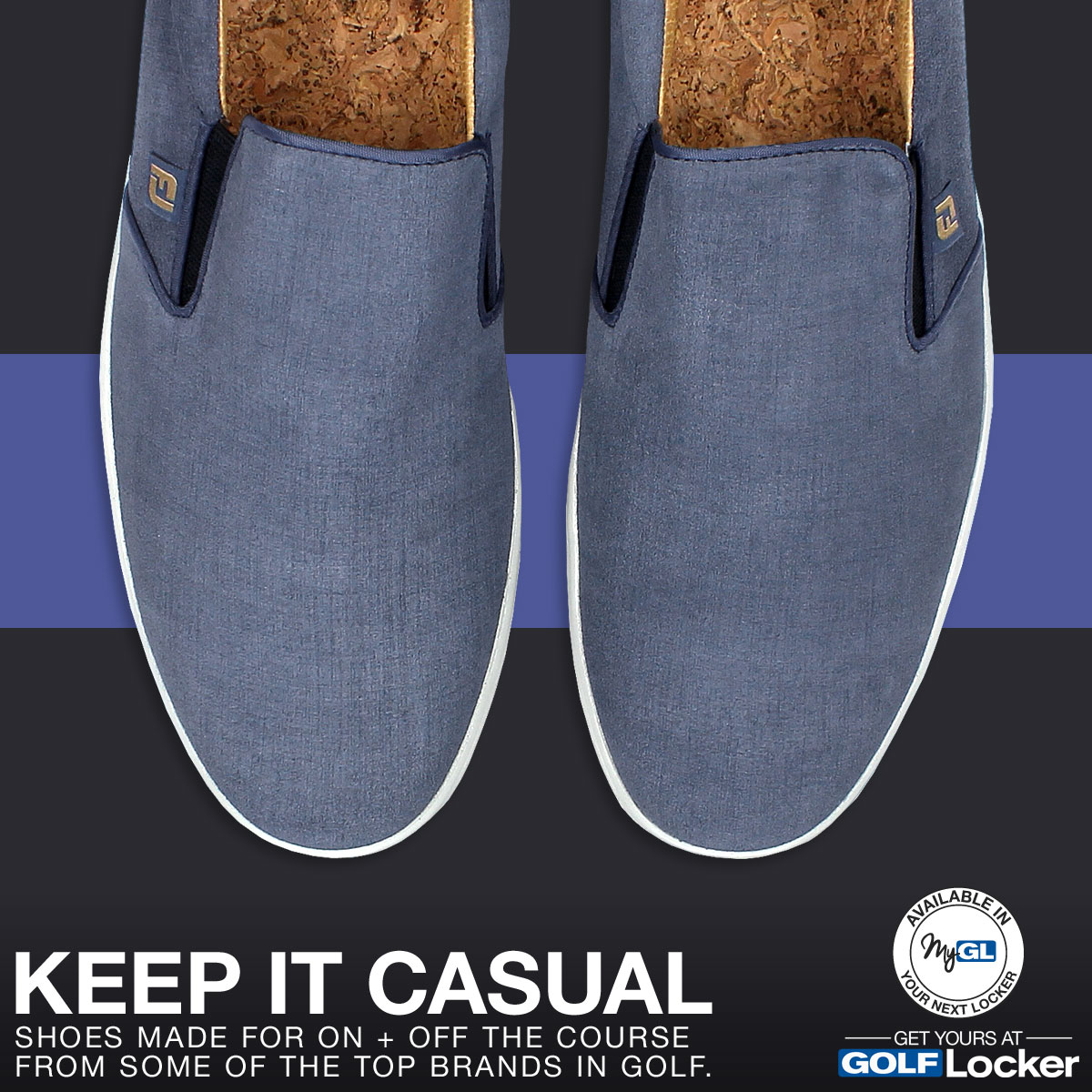 Keep it casual. Shop casual shoes made for on and off the course.