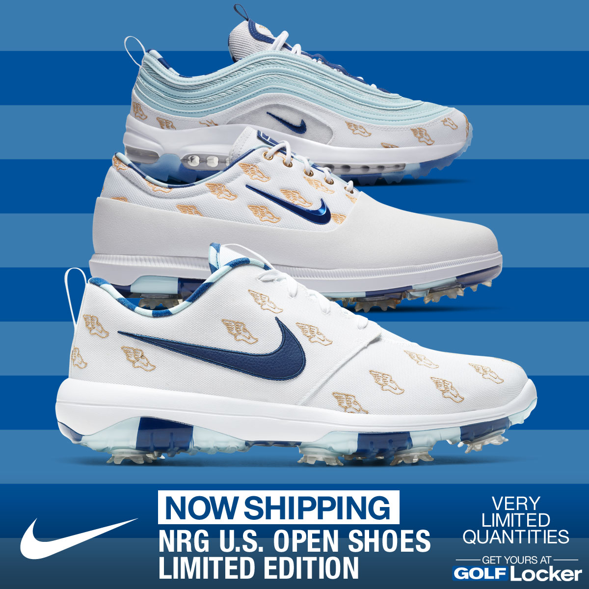 Now Shipping - Nike Limited Edition U.S. Open Golf Shoes