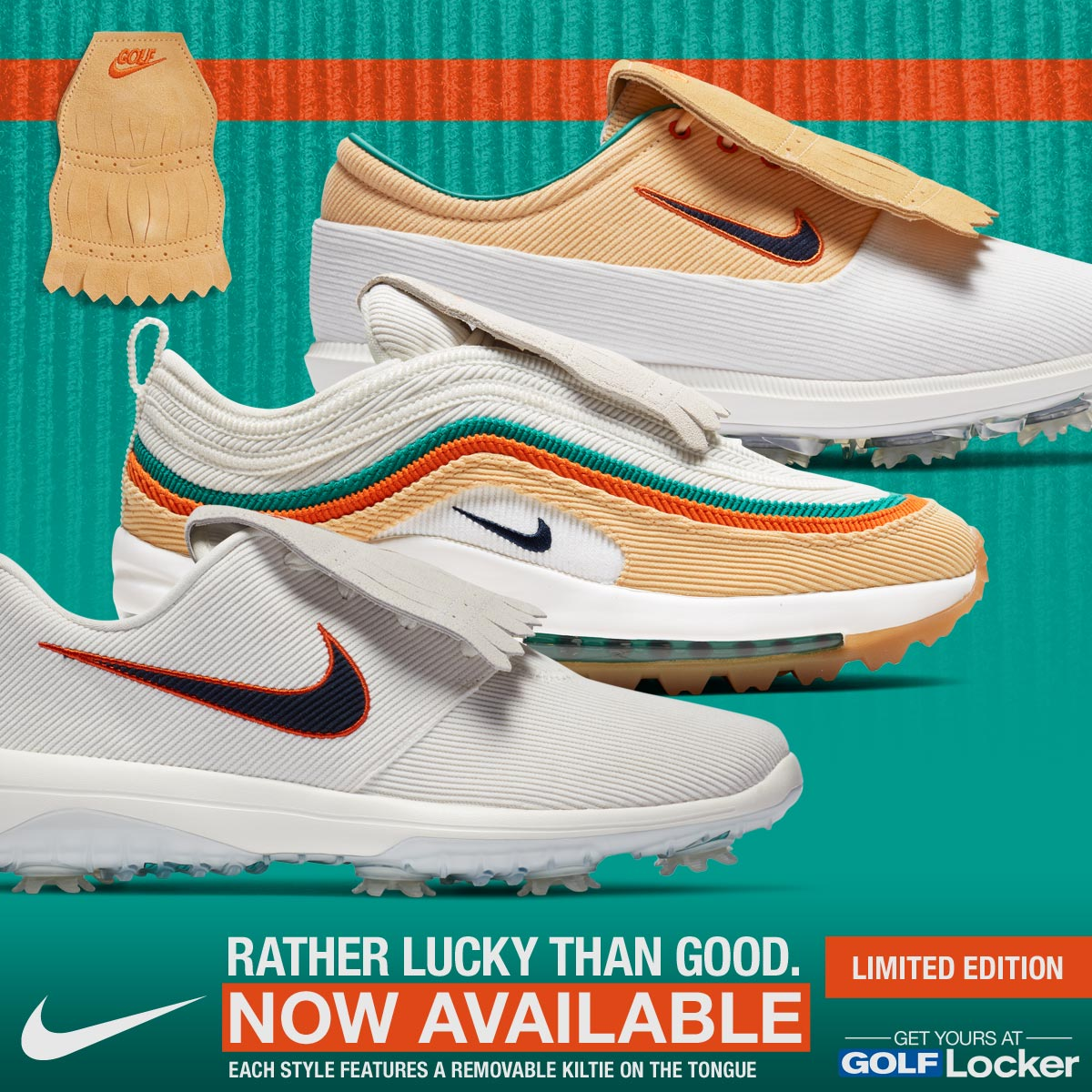 Now Available - Rather Lucky Than Good - Limited Edition Nike Shoes