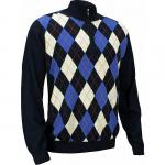 FootJoy Merino Argyle Half-Zip Golf Pullovers - Jupiter Collection - ON SALE