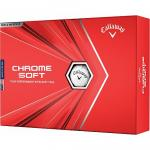 Callaway Chrome Soft Personalized Golf Balls - Buy 3, Get 1 Free - FREE PERSONALIZATION