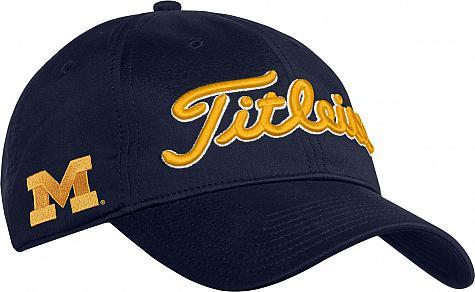 85d5e2d99bb Titleist Collegiate Snapback Adjustable Golf Hats - ON SALE