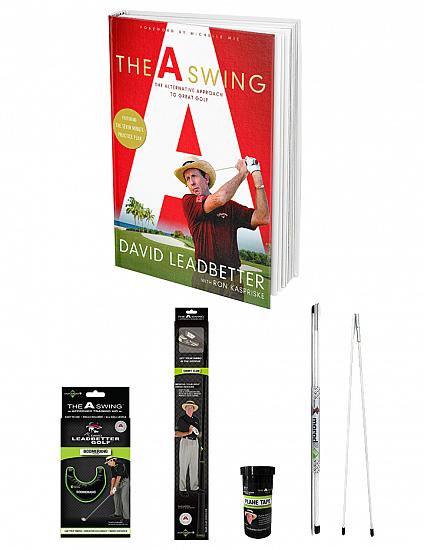David Leadbetter Golf The A Swing Complete Package - Book and Training Aids - ON SALE! - HOLIDAY SPECIAL - IN STORE ONLY