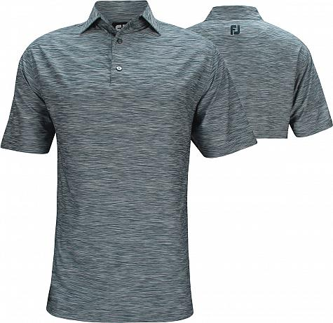 FootJoy ProDry Space Dye Lisle Self Collar Golf Shirts - FJ Tour Logo Available - Previous Season Style