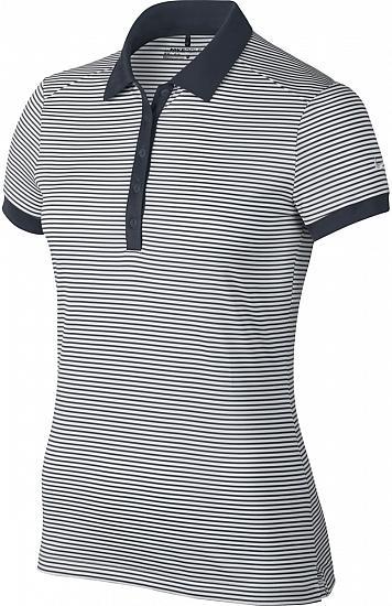 5050ec2f7474 Nike Women s Dri-FIT Victory Stripe Golf Shirts - CLOSEOUTS
